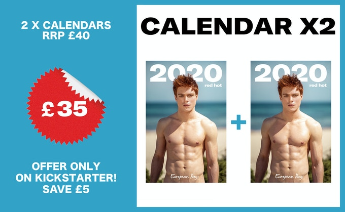 Red hot ginger guys wanted for 2020 calendar photo shoot