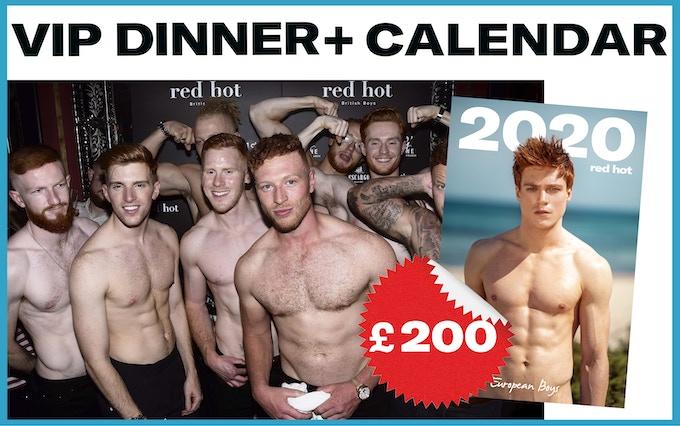 2020年RED HOT超養眼猛男全裸年曆熱辣來襲!陽光歐洲紅髮鮮肉性感登場 | Marie Claire 美麗佳人