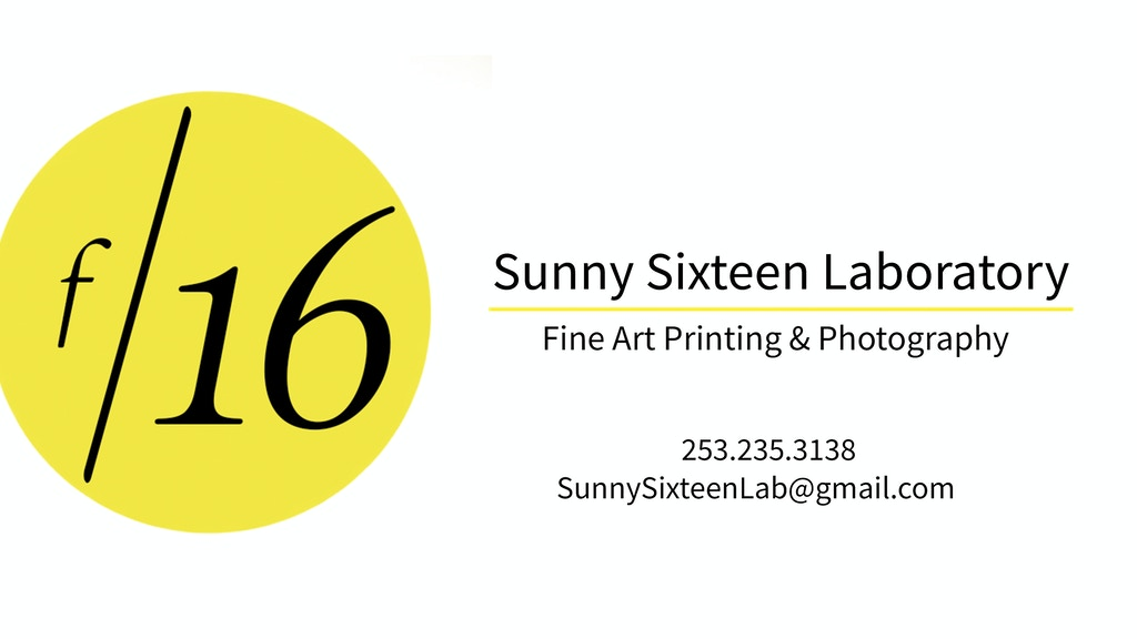 Project image for Sunny Sixteen Laboratory