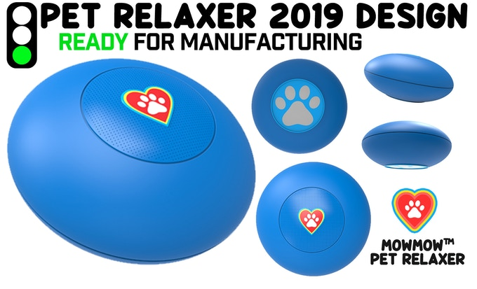 The New industrial design, ready for manufacturing. Pet-proof, and easy to use.