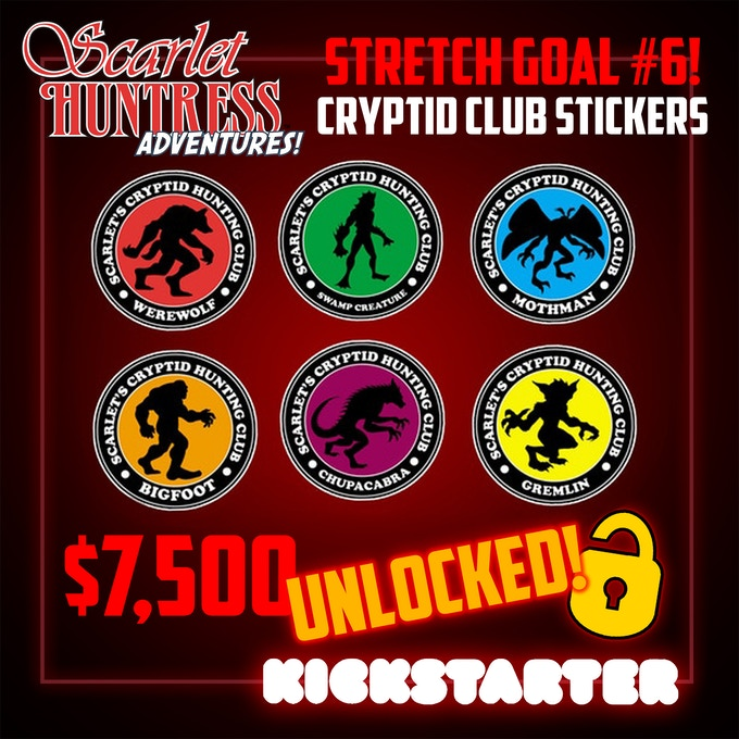 Stretch Goal #6 UNLOCKED!