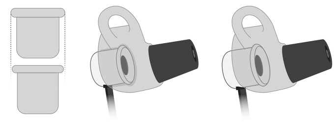 The You Tune Metal Earphone Case was enlarged for better Noise Reduction and Sound Enhancement