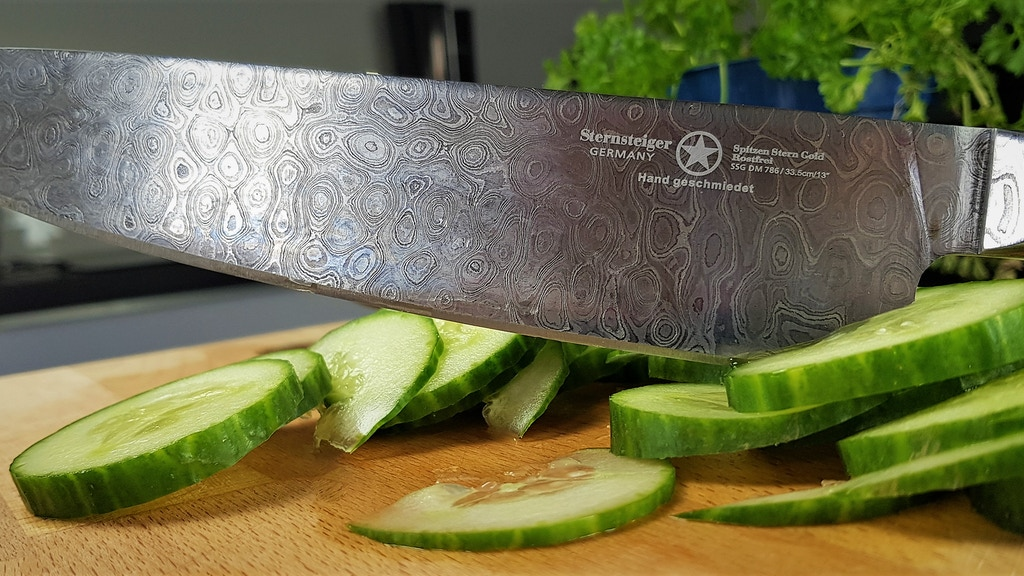 Germanicum Arminius · The next generation of Damascus knives