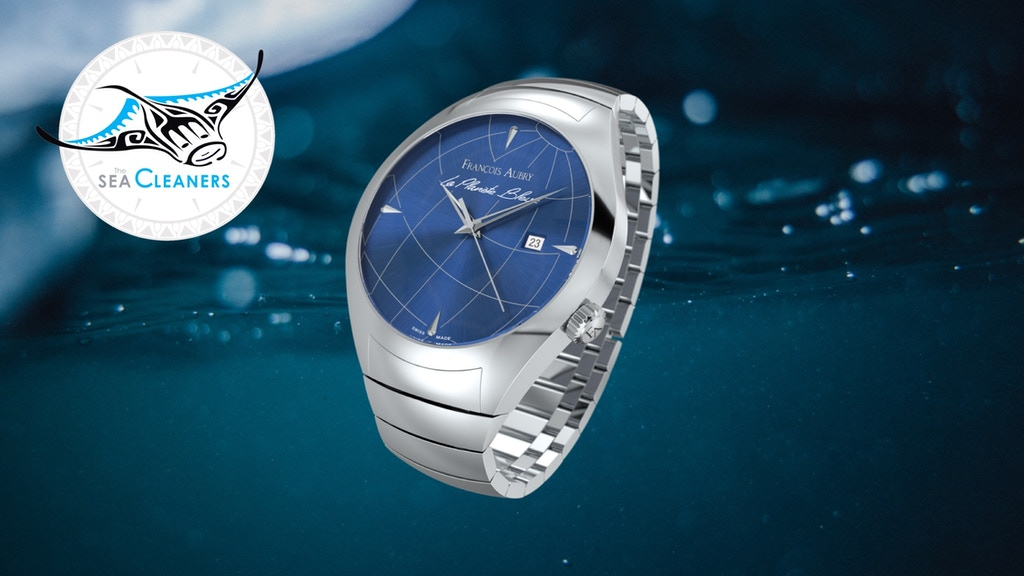 Swiss Automatic Watches - La Planète Bleue/Francois Aubry project video thumbnail