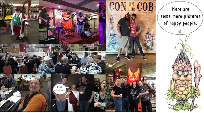 CON ON THE COB by Andy Hopp — Kickstarter