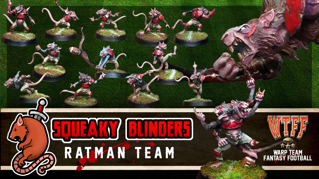 The Squeaky Blinders: Ratman Fantasy Football Team project video thumbnail
