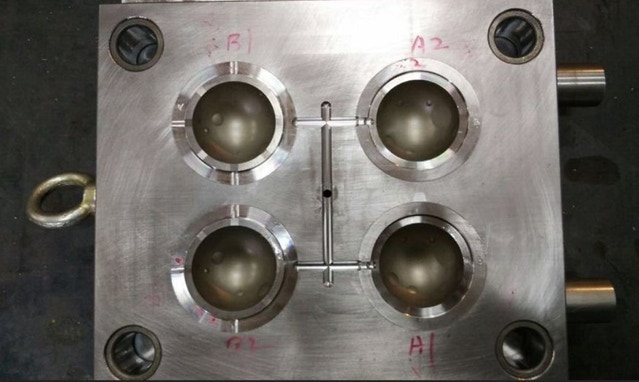 Completion of mold for mass production