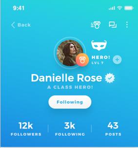 Secret Hero Profile