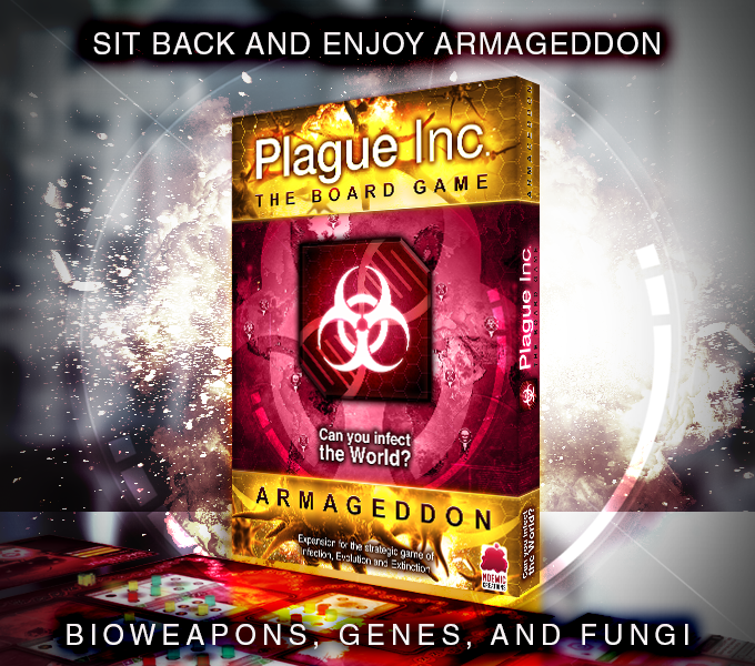 Project Updates for Plague Inc: The Board Game on BackerKit