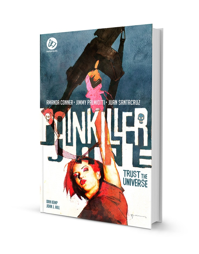 The hardcover edition featuring a PAINTED cover by BILL SIENKIEWICZ