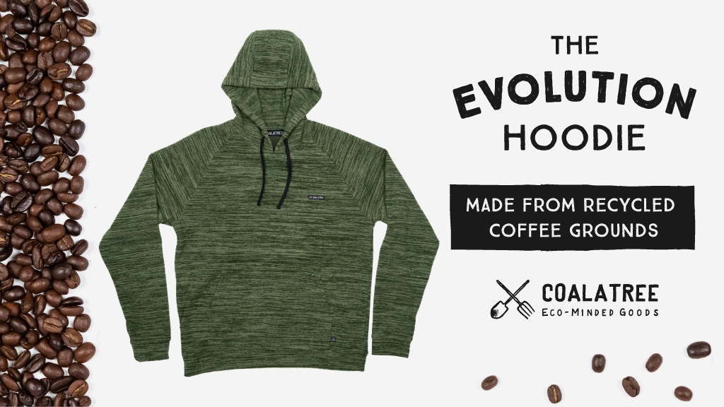 Evolution Hoodie: Made from Recycled Coffee Grounds project video thumbnail