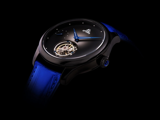 The all new Stellaris AK735 limited to only 290 pieces. All images are actual photos of the timepieces.