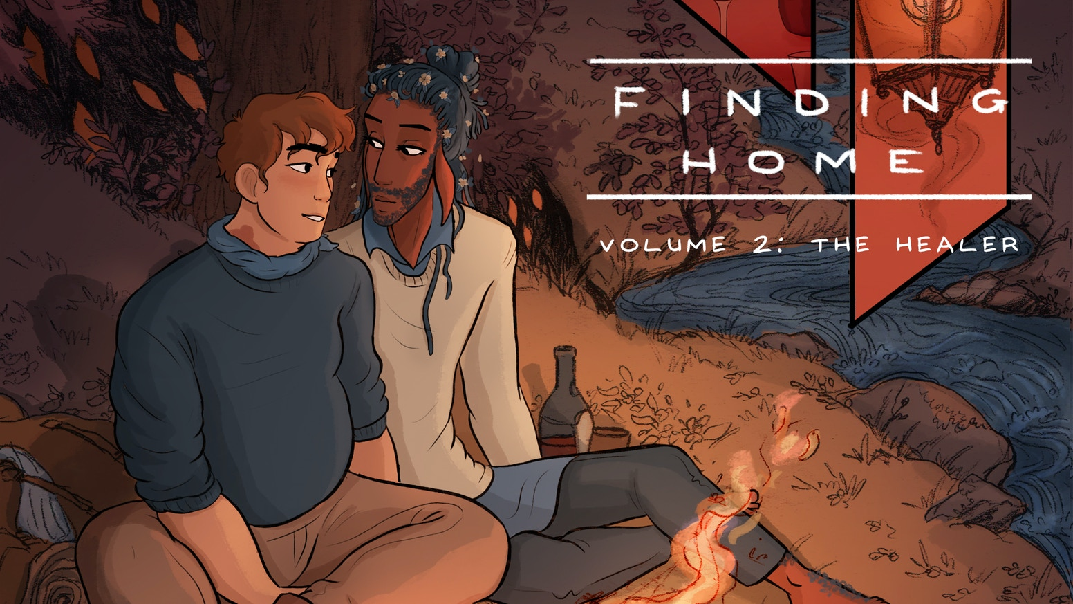 Volume 2 of the award-winning LGBT romance comic, printed as a graphic novel.