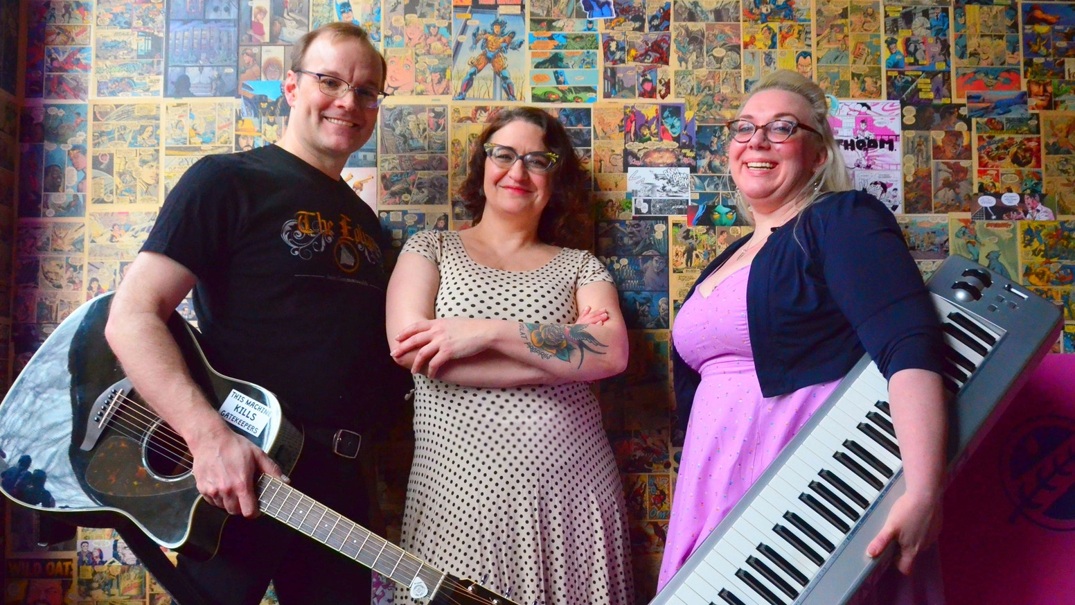 PDX's favorite nerdy trio aspire to make fifth studio album, go on tour, film at 11.