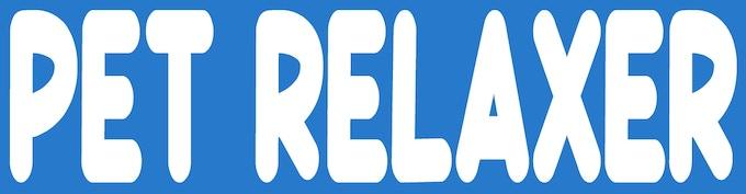 Official Pet Relaxer Bumper Sticker