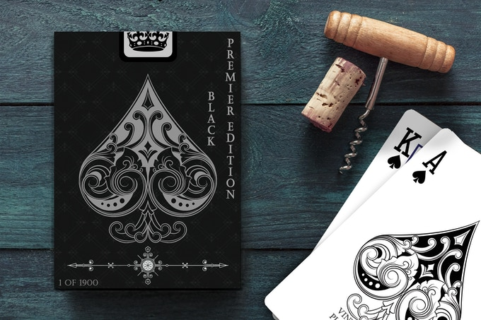 Premier Edition Black Deck Add $19 AUD ($13 USD) per deck to your pledge total.