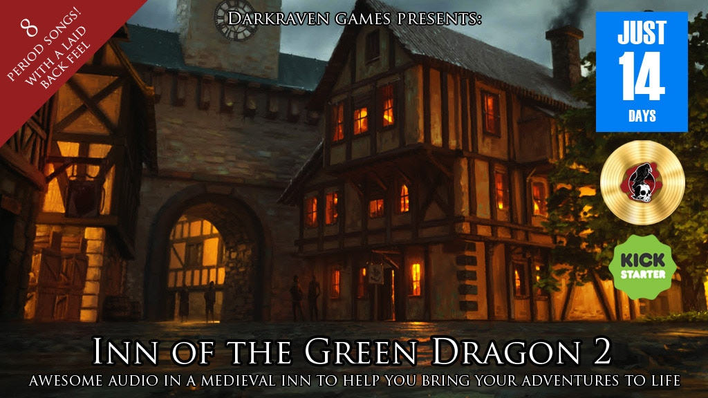 Inn of the Green Dragon 2 - Roleplaying Audio project video thumbnail