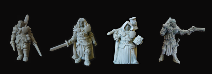 28mm Dragon Knight Set