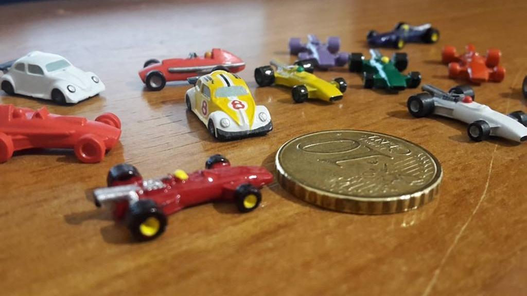 Cool 3D STL files of car miniatures. project video thumbnail