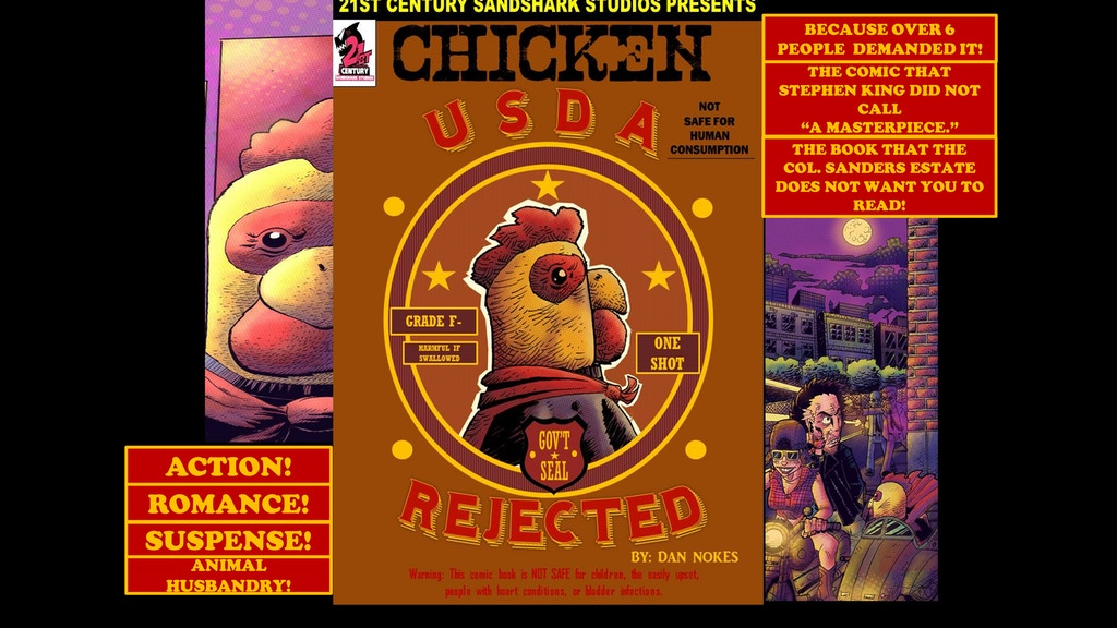 CHICKEN: USDA REJECTED project video thumbnail