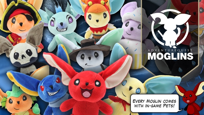 Moglins are ultimate sidekicks for real-life adventurers like you. Help us bring them from the fantasy world into the real one!