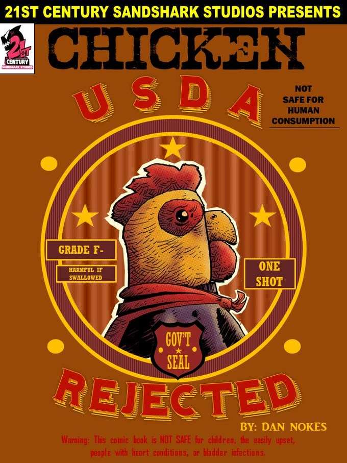 FRONT COVER FOR: CHICKEN- USDA REJECTED