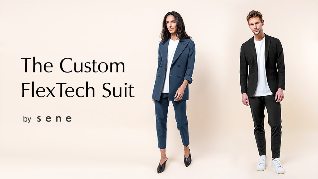 World's Best Travel Suit Custom-Made With Athleisure Fabric