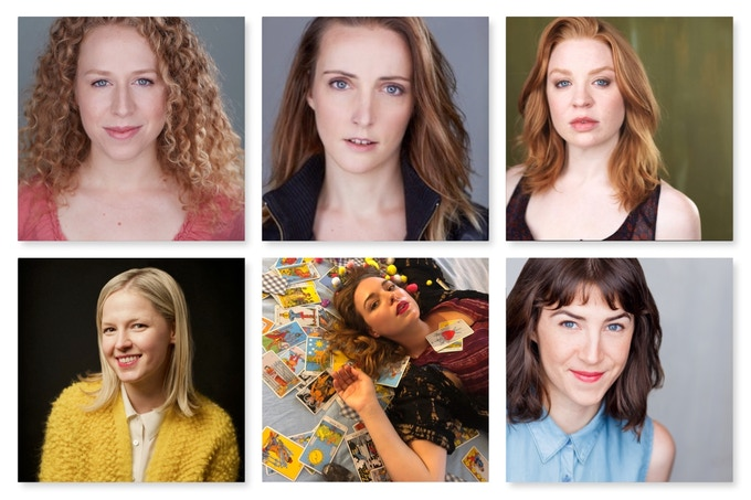 (Left to Right) Amanda Lea Mason, Eryn O'Sullivan, Alex Highsmith, Kate Bancroft, Elizabeth May, Naomi Lindh