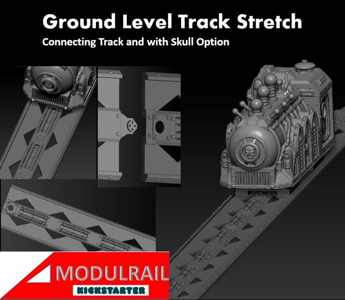 ground level track prototype