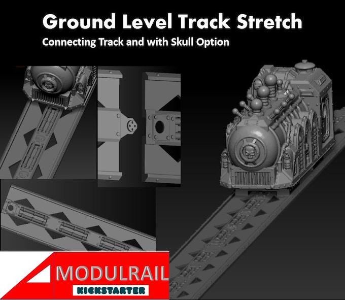 ground level track prototype