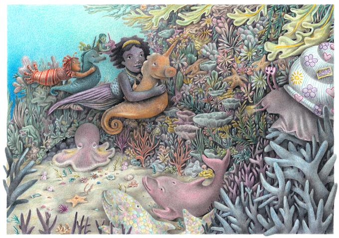 """Venus and the Pistil Whipsies"" by Esther Samuels-Davis"