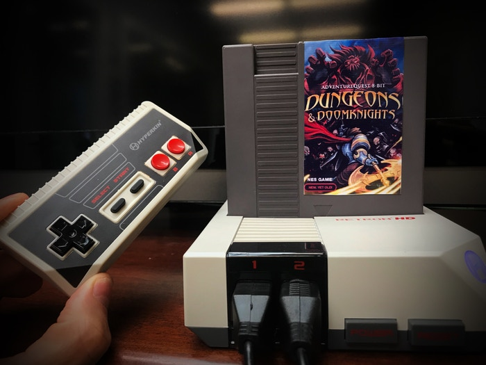 The Retron HD is a good, and inexpensive consule that is compatable with our NES cart.