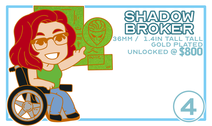 Shadow Broker / Unlocked @ $800