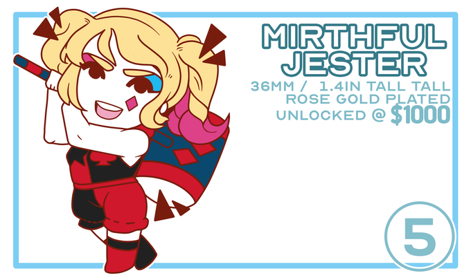 Mirthful Jester / Unlocked @ $1000