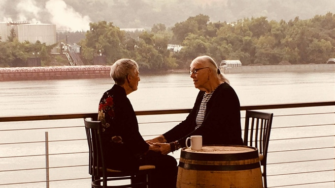PBS brings Sonia & me together on the Tennesee River, August 2018
