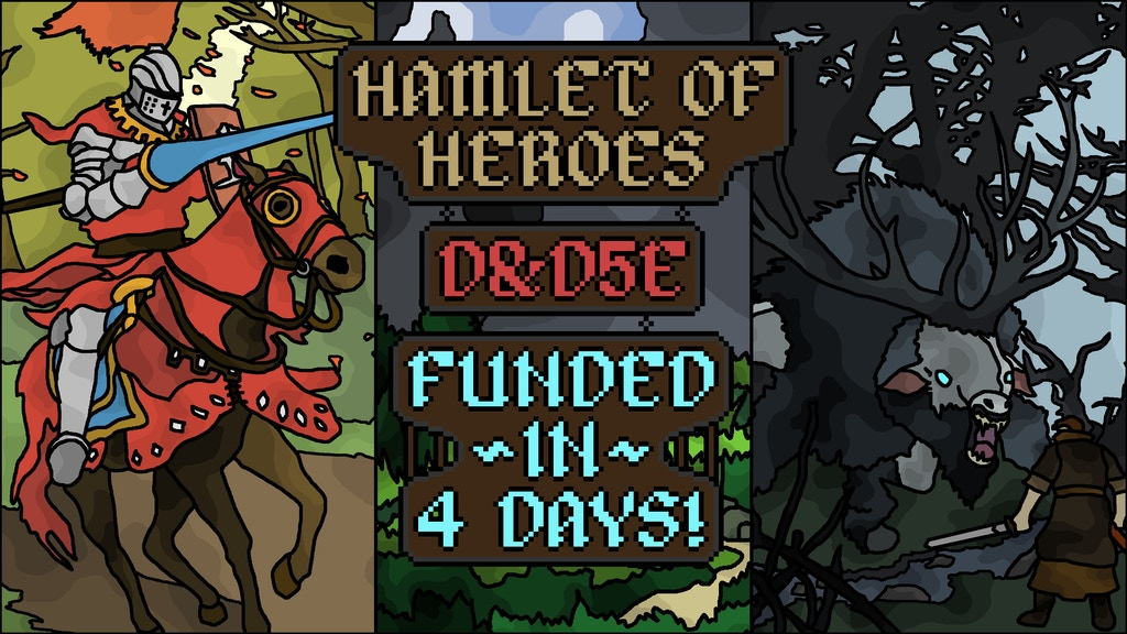 Hamlet of Heroes: A Supplement for D&D5e project video thumbnail