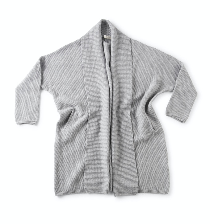 Our Heather Grey Cashmere