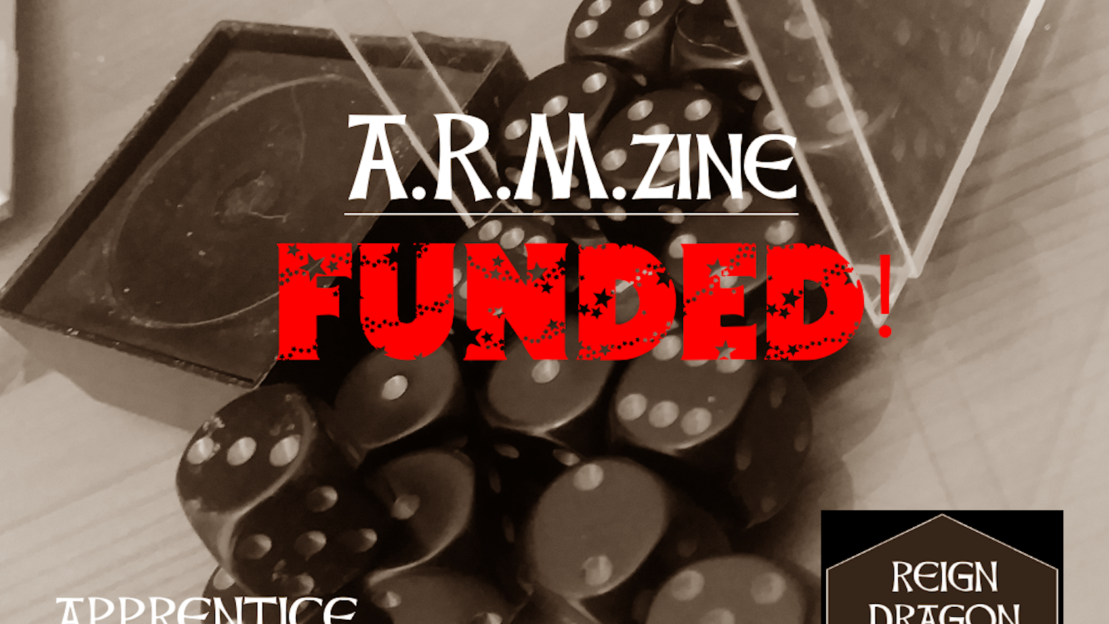 A.R.M.zine is a Fanzine dedicated to teaching kids (of all ages) how to play tabletop Role-Playing Games.