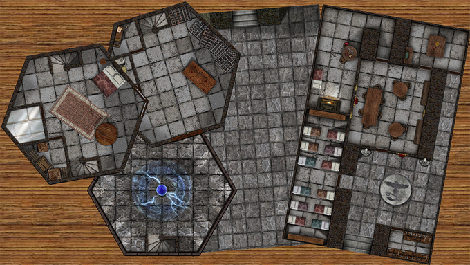 High Quality Full Size Map Tiles.  Specific to this adventure, but common enough to reuse multiple ways.