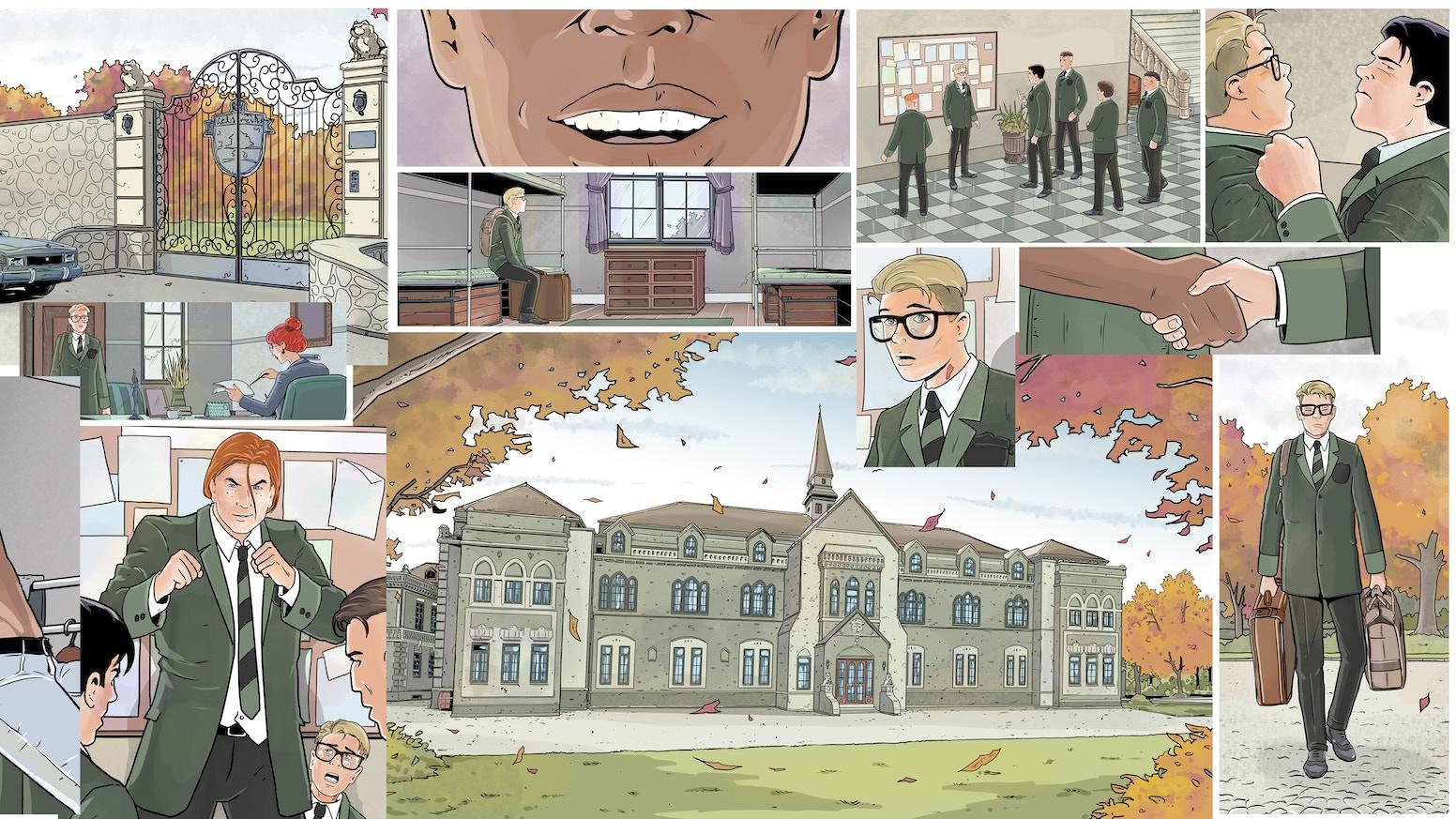 BROTHERHOOD: A NEW exciting Superhero LGBTQ Comicbook Series by
