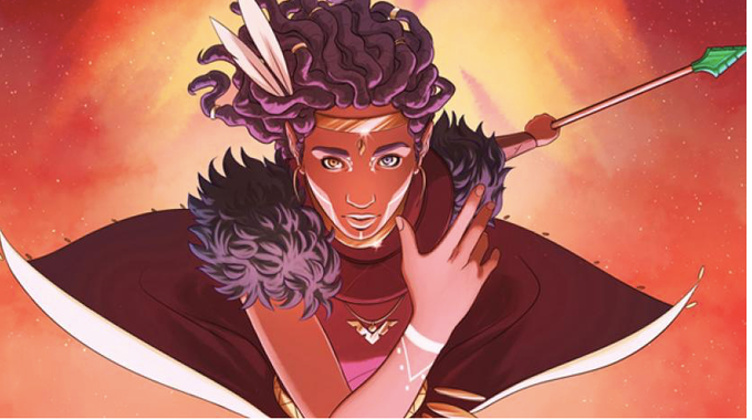 Art by Ashley A Woods from Niobe : She Is Life!