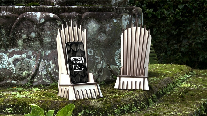 Phone-Thrones® I Charging your Phone just GoT Epic!