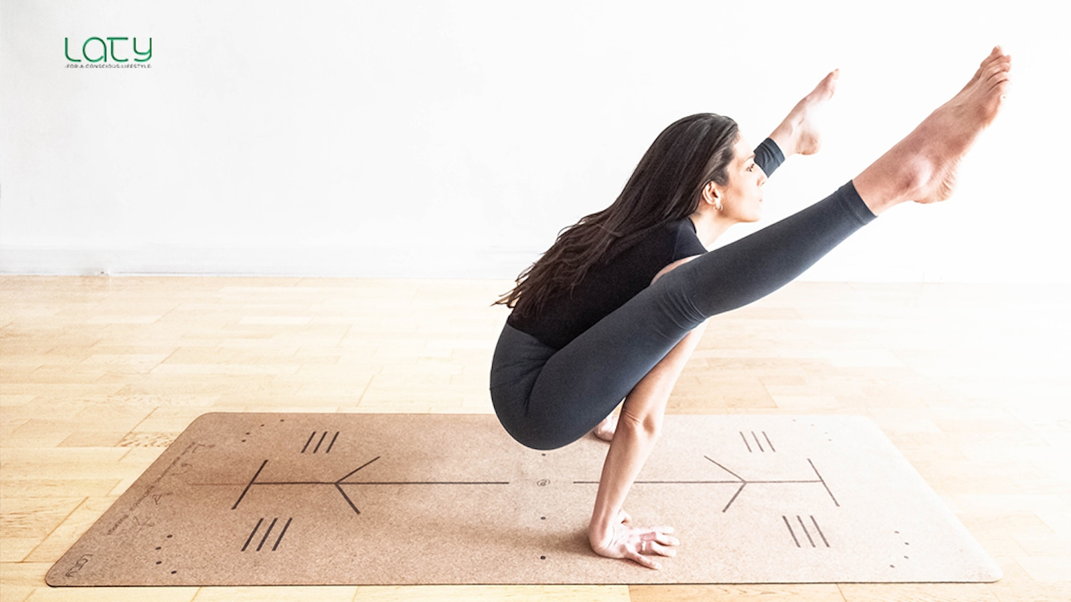 The BHUMI MAT - The Only Mat You'll Need for your Well-being Journey; World's First Cork Yoga Mat with Alignment Cues