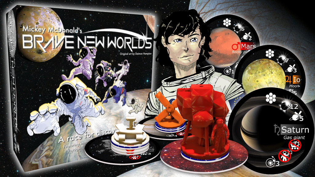 Brave New Worlds: A Race for Discovery! project video thumbnail