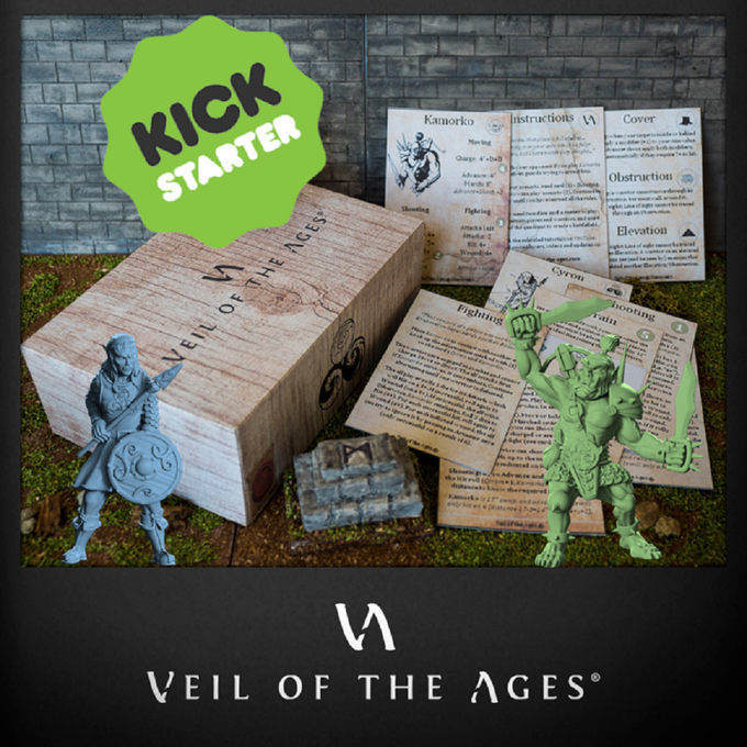 Starter Set (content will vary based on stretch goals)