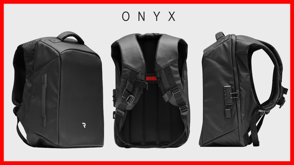 ONYX | Functional Backpacks With Less Outside, More Inside project video thumbnail