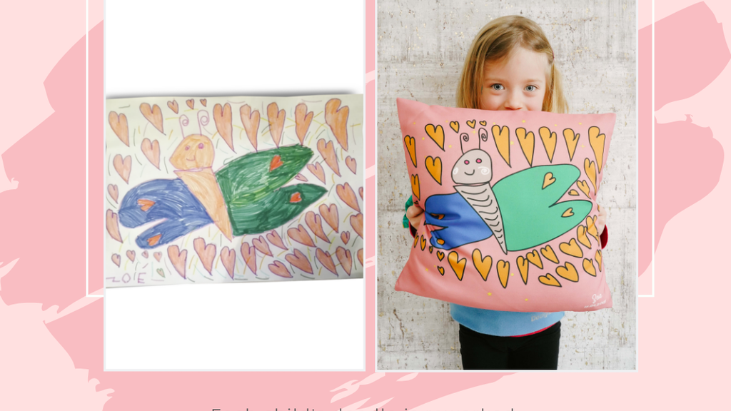 KiddyArts : Handmade Customized Cushions from Kids Art project video thumbnail