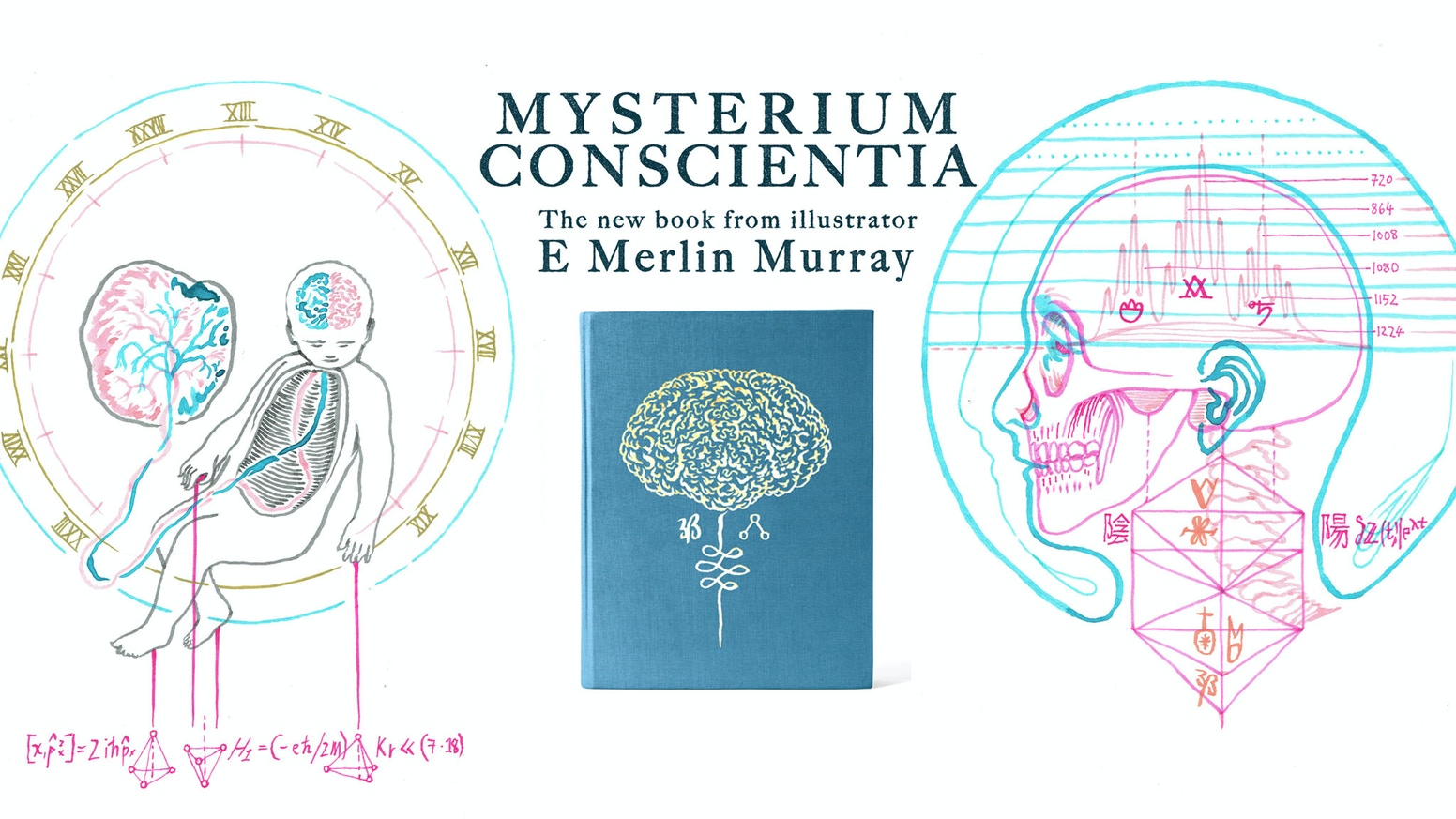 A book of drawings based on the eternal mystery of human consciousness, via a set of arcane sciences, esotericism, and the mystical.