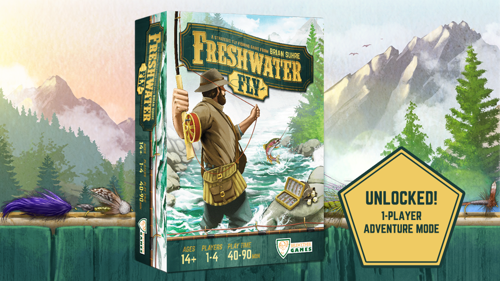 Freshwater Fly: A Strategic Fly Fishing Game project video thumbnail