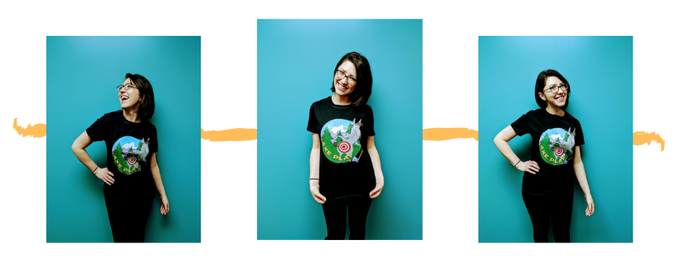 You can get this cheeky t-shirt and feel as great as Annie in it with the Black Willow, Weeping Willow, Slippery Elm, Mighty Oak, and Giant Sequoia reward tiers!